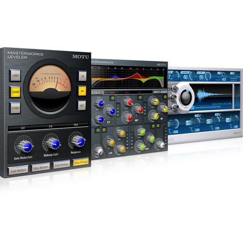 MOTU The Masterworks Collection - Audio Processing Plug-In 7710