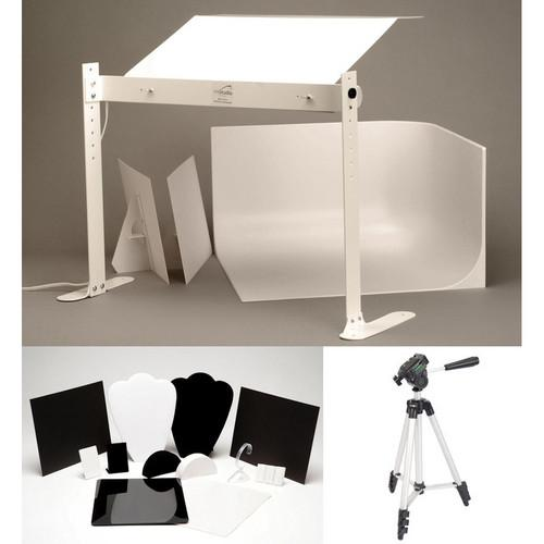 MyStudio Tabletop Photo Studio w/ Jewelry Kit MS20J