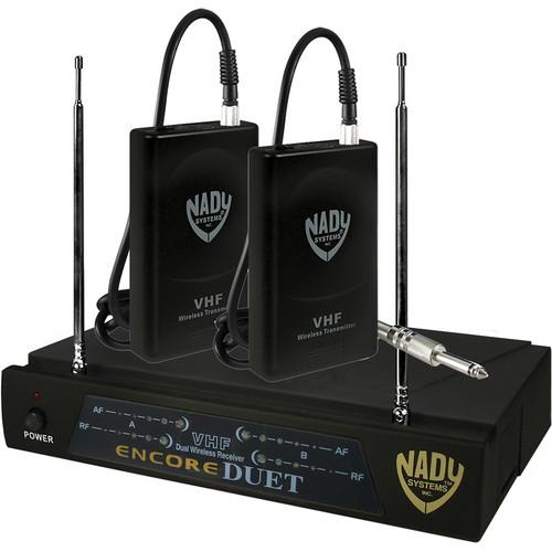 Nady Encore Duet Dual Receiver VHF Wireless ENCORE DUET GT/B&D