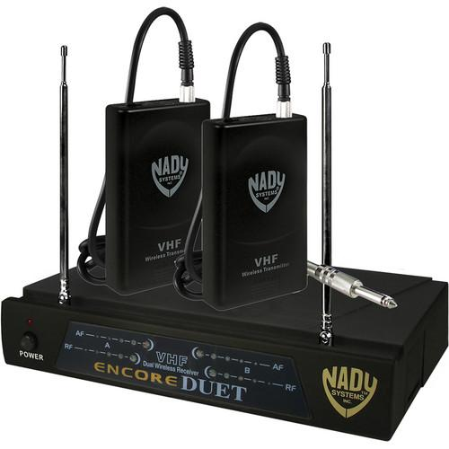 Nady Encore Duet Dual Receiver VHF Wireless ENCORE DUET GT/F&E