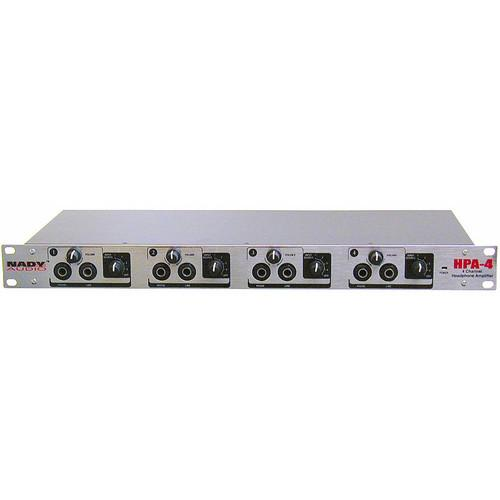 Nady HPA-4 4-Channel Rackmount Headphone Amplifier HPA-4