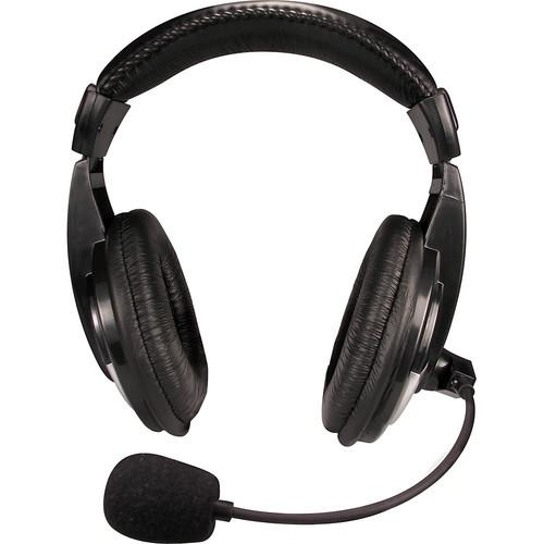 Nady QHM-100 Closed-Back Stereo Headphones with Boom Mic QHM-100