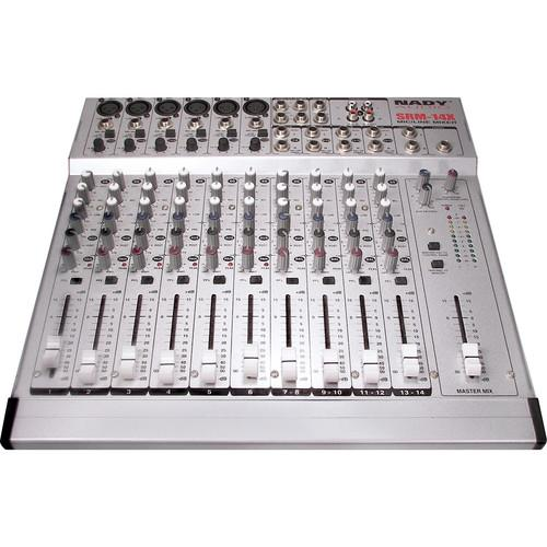 Nady SRM-14X 14-Channel Stereo Mic/Line Mixer SRM-14X