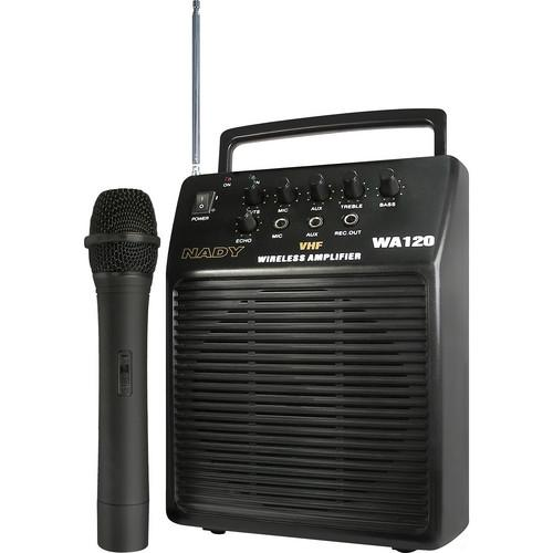 Nady WA-120 Portable Wireless PA System WA 120 HT/E