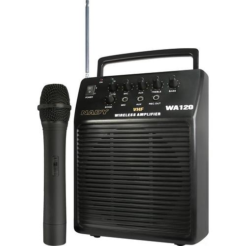 Nady WA-120 Portable Wireless PA System WA 120 HT/G1