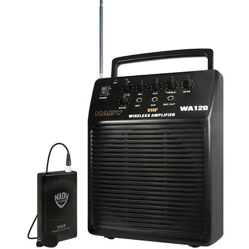 Nady WA-120 Portable Wireless PA System WA 120 LT/F