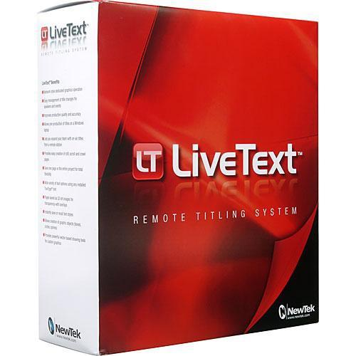 NewTek LiveText 2 Upgrade from LiveText 1 or LT080001-1201