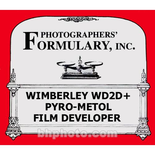 Photographers' Formulary Wimberley WD2D  Pyro-Metol Film 01-0158