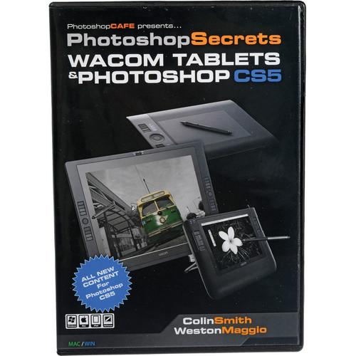 PhotoshopCAFE DVD-ROM: PhotoShop Secrets Wacom Tablets PSCS5CSWD