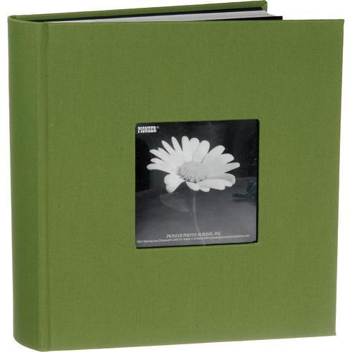 Warm Mocha Pioneer Photo Albums DA-100CBFNWM Pioneer 100 Pocket Fabric Frame Cover Photo Album