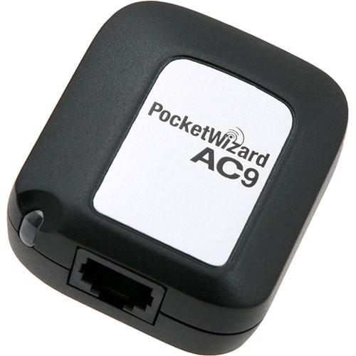 PocketWizard AC9 AlienBees Adapter for Nikon PW-AC9-N