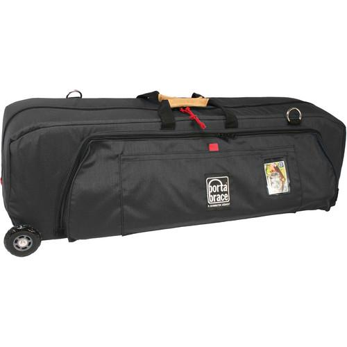 Porta Brace WRB-3OR Wheeled Run Bag (Midnight Black) WRB-3ORB