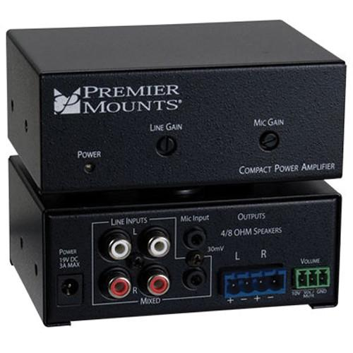 Premier Mounts CPA-50 Compact Power Amplifier CPA-50