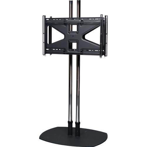 Premier Mounts CS84-2MS2 Floor Stand Combo with 2 CS84-2MS2