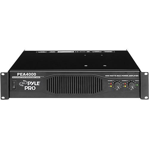 Pyle Pro PEA4000 Rackmount Stereo Power Amplifier PEA4000