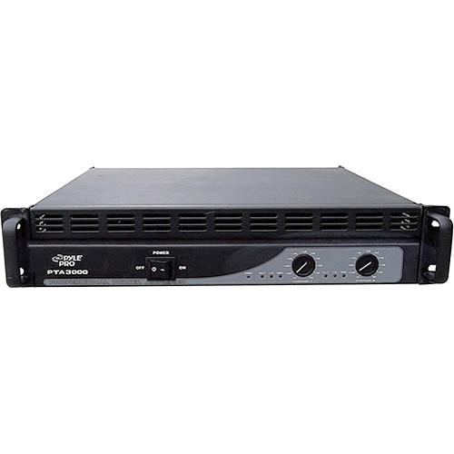 Pyle Pro PTA3000 Professional Stereo Power Amplifier PTA3000