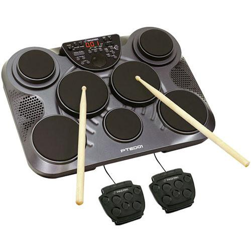 Pyle Pro PTED01 Electronic Table Top Drum Kit PTED01