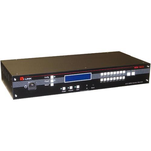 RTcom USA DS-88HM DVI Matrix Router 8x8 with HDCP DS-88HM