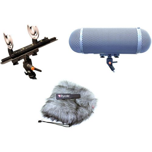 Rycote Stereo Windshield AG Kit for 30mm Microphones - 080206
