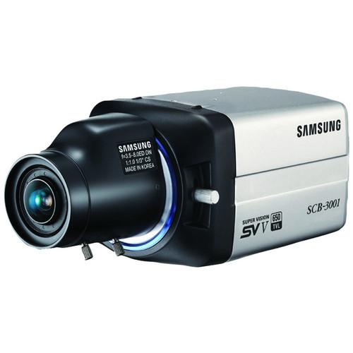 Samsung 650 TVL True Day/Night Box Camera (No Lens) SCB-3001