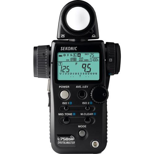 Sekonic L-758DR DigitalMaster Flash Meter 401-758
