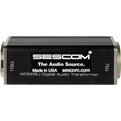 Sescom BNC Female to XLR Male AES/EBU Impedance SES-AES-EBU-2