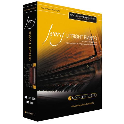 Synthogy Ivory II Upright Pianos - Virtual Instrument ILIVUR2UG