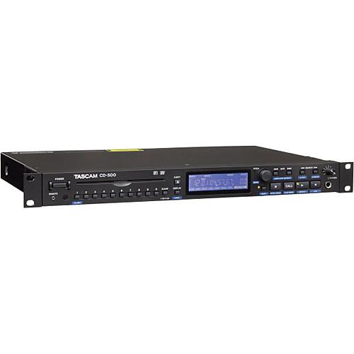 Tascam  CD-500 Single-Rackspace CD Player CD-500