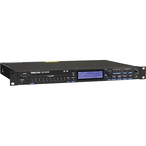 Tascam CD-500B Single-Rackspace CD Player (Balanced) CD-500B