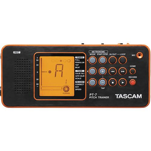 Tascam  PT-7 Chromatic Tuner & Trainer PT-7