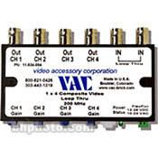Vac 1x4 Composite Video Distribution Amplifier 11-534-104