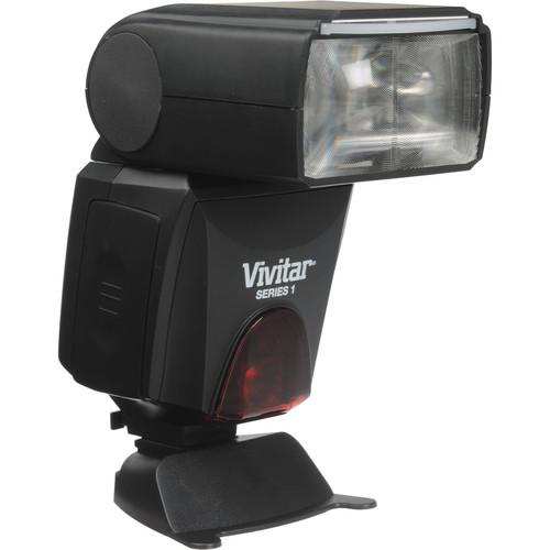 Vivitar Series 1 DF-683 Radio Wireless TTL Power Zoom Flash for Nikon i-TTL