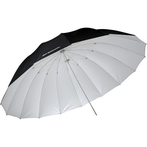 Westcott 7' Parabolic Umbrella (White / Black) 4634
