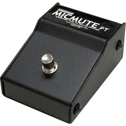 Whirlwind Micmute PT Push-to-Talk Switch (Pedal) MICMUTE-PT