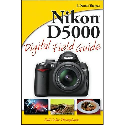 Wiley Publications Book: Nikon D5000 Digital 978-0-470-52126-7