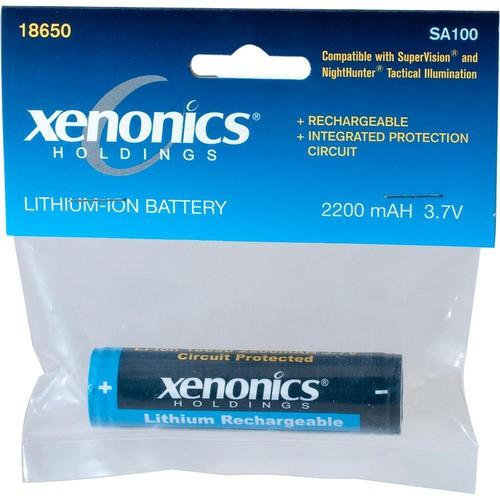 Xenonics 18650 SuperVision Lithium-Ion Battery SA100