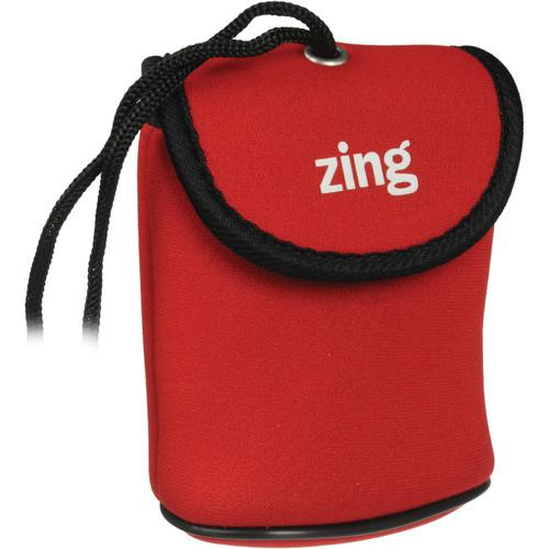 Zing Designs  Camera Pouch, Large (Red) 563-302