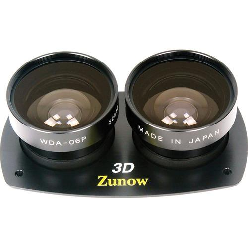 Zunow WDA-06P Kit 3D Wide Angle Conversion Lens WDA-06P