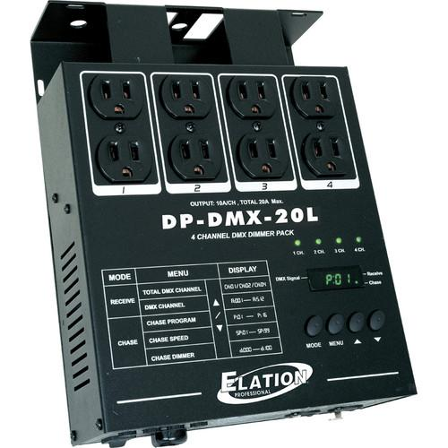 American DJ DP-DMX20L 4-Channel DMX Dimmer Pack DP-DMX20L