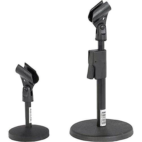 AmpliVox Sound Systems S1075 Desk Microphone Stand S1075