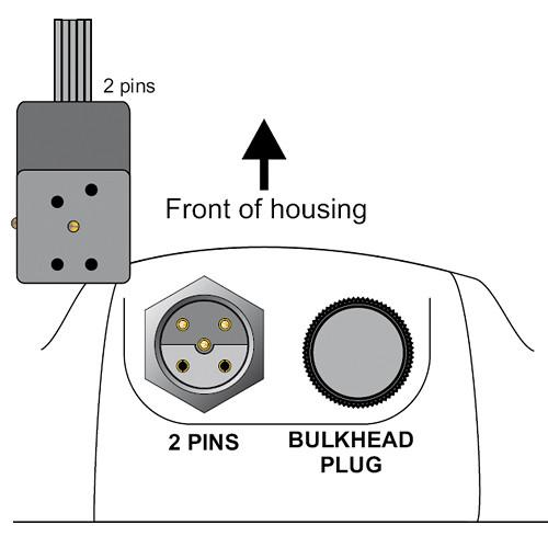 Aquatica Manual Bulkhead Connector with Canon Hot Shoe 18928