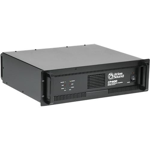 Atlas Sound CP400 Dual Channel Commercial Power Amplifier CP400