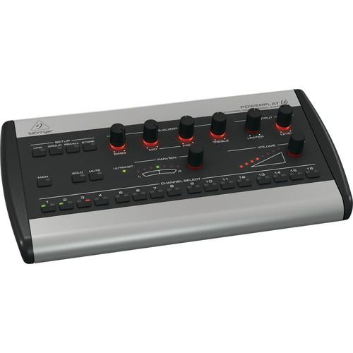 Behringer Powerplay 16 P16-M 16-Channel Digital Personal P16-M