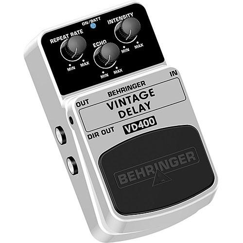 Behringer VD400 Vintage Analog Delay Effects Pedal VD400
