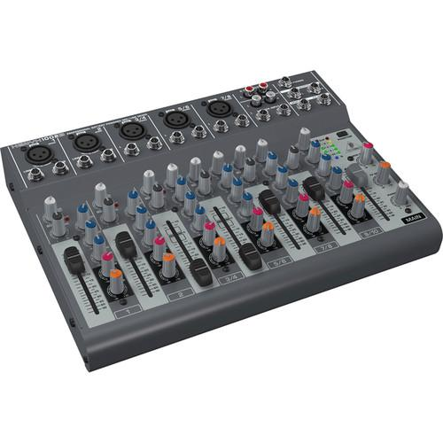 Behringer XENYX 1002B Battery-Operated 10-Channel Audio Mixer