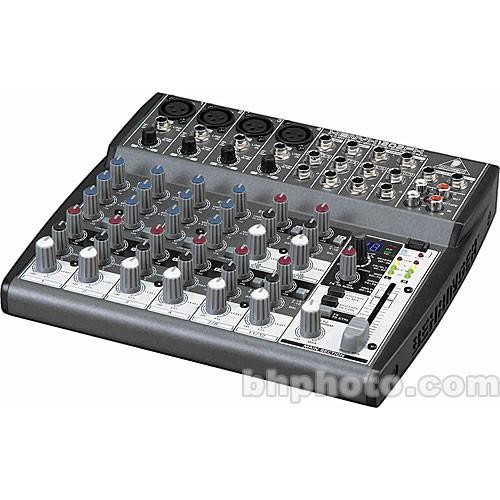 Behringer XENYX 1202FX 12-Channel Audio Mixer with Effects and