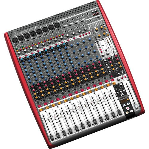 Behringer XENYX UFX1604 16-Input 4-Bus Mixer with 16x4 UFX1604