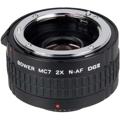 Bower 2x DGII Teleconverter with 7 Elements for Nikon F SX7DGN