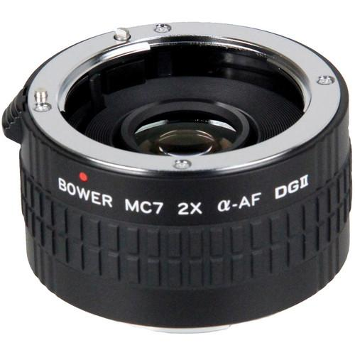 Bower 2x DGII Teleconverter with 7 Elements for Sony A SX7DGS