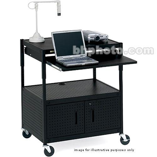Bretford Multimedia Height-Adjustable Cabinet Cart ECILS3-BK
